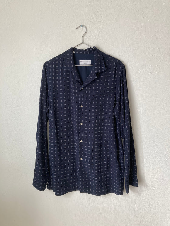 (M) Officine General Printed Shirt