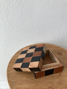 Wood Box w/ Lid