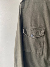 Load image into Gallery viewer, Rag & Bone Green Military Crop Jacket