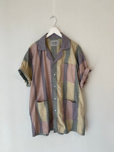 Liam Hodges Print Button Up T-Shirt