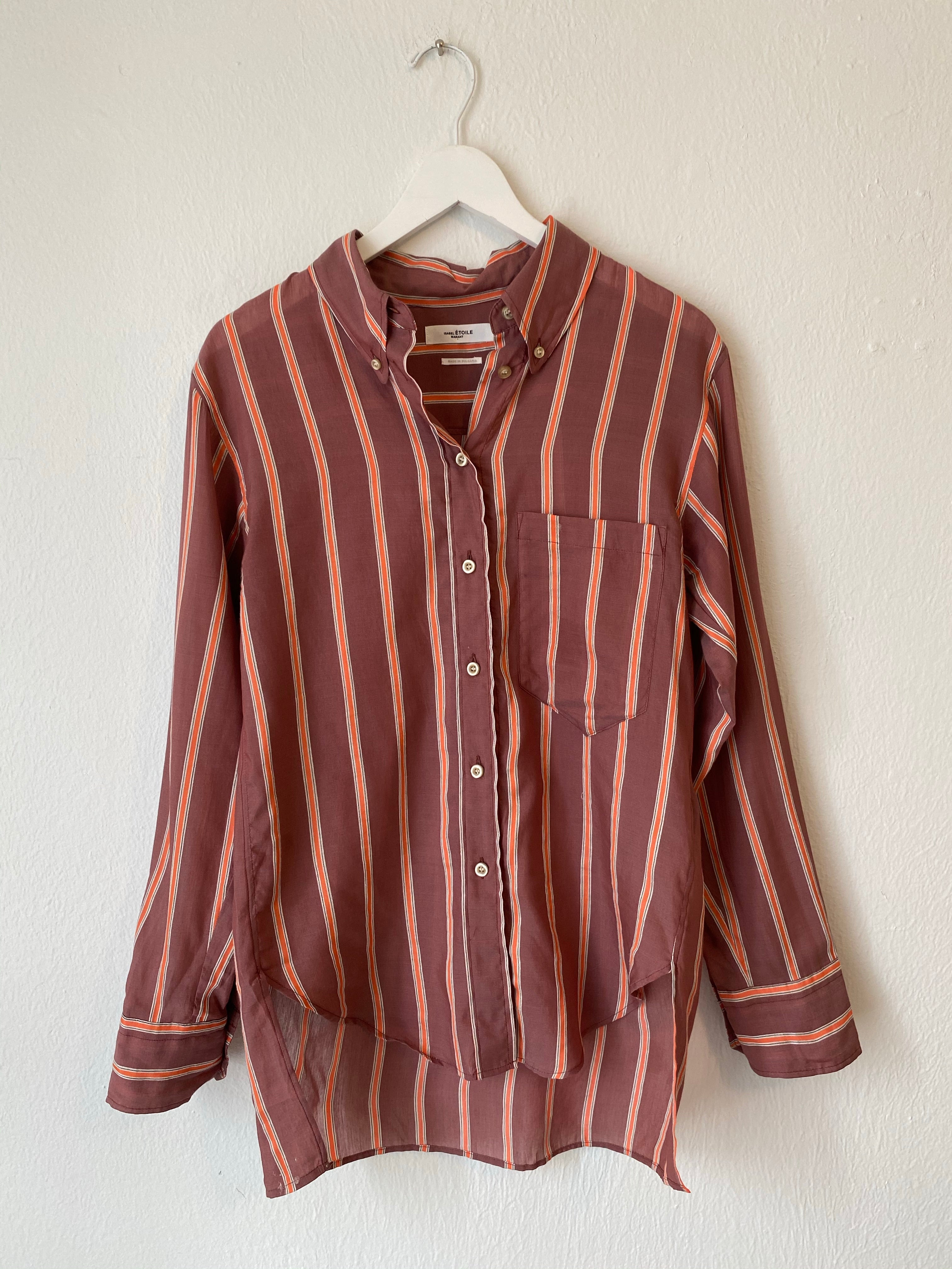 Isabel Marant Stripe Button Up