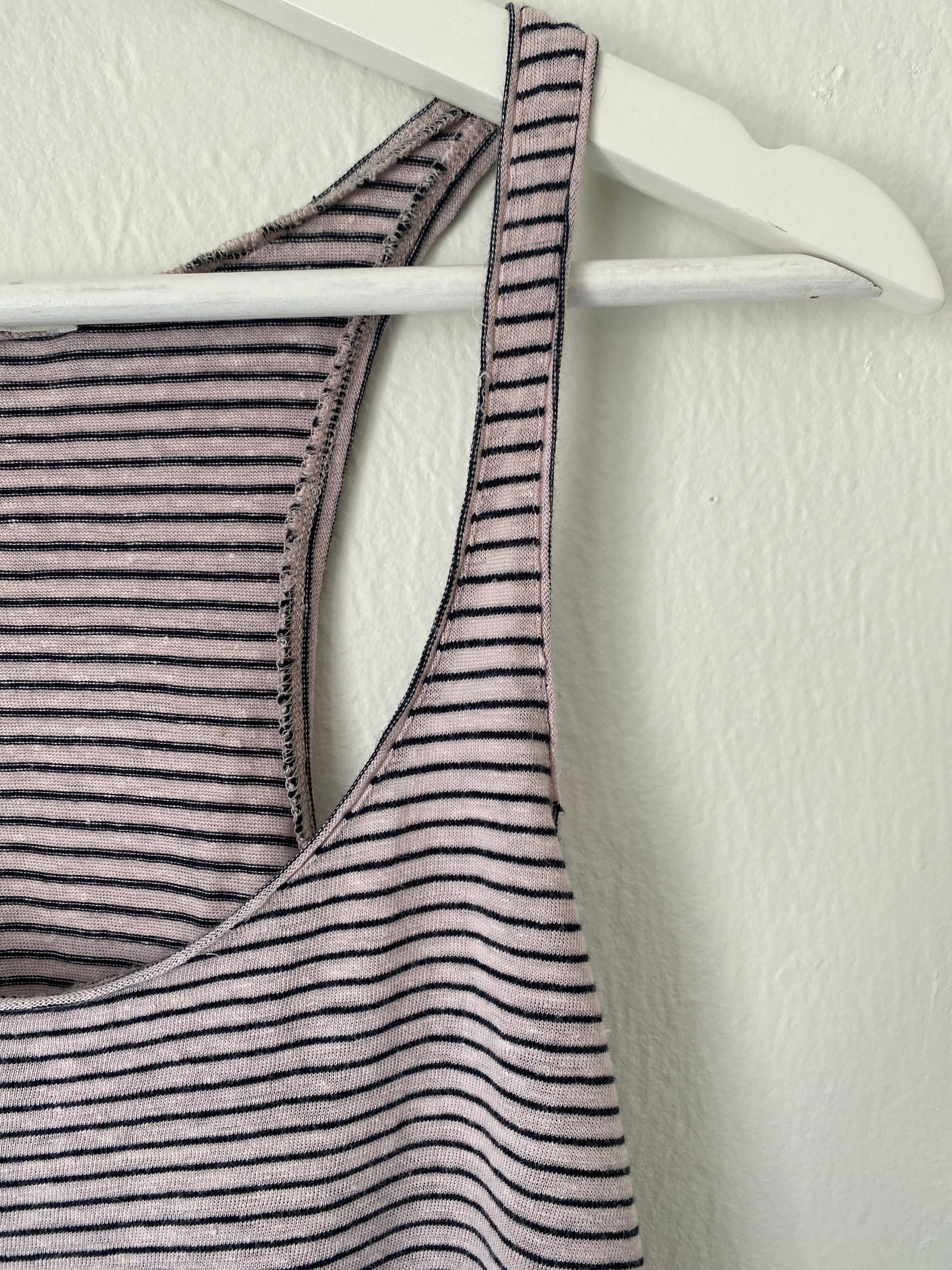 Isabele Marrant Etoile Striped Tank Top
