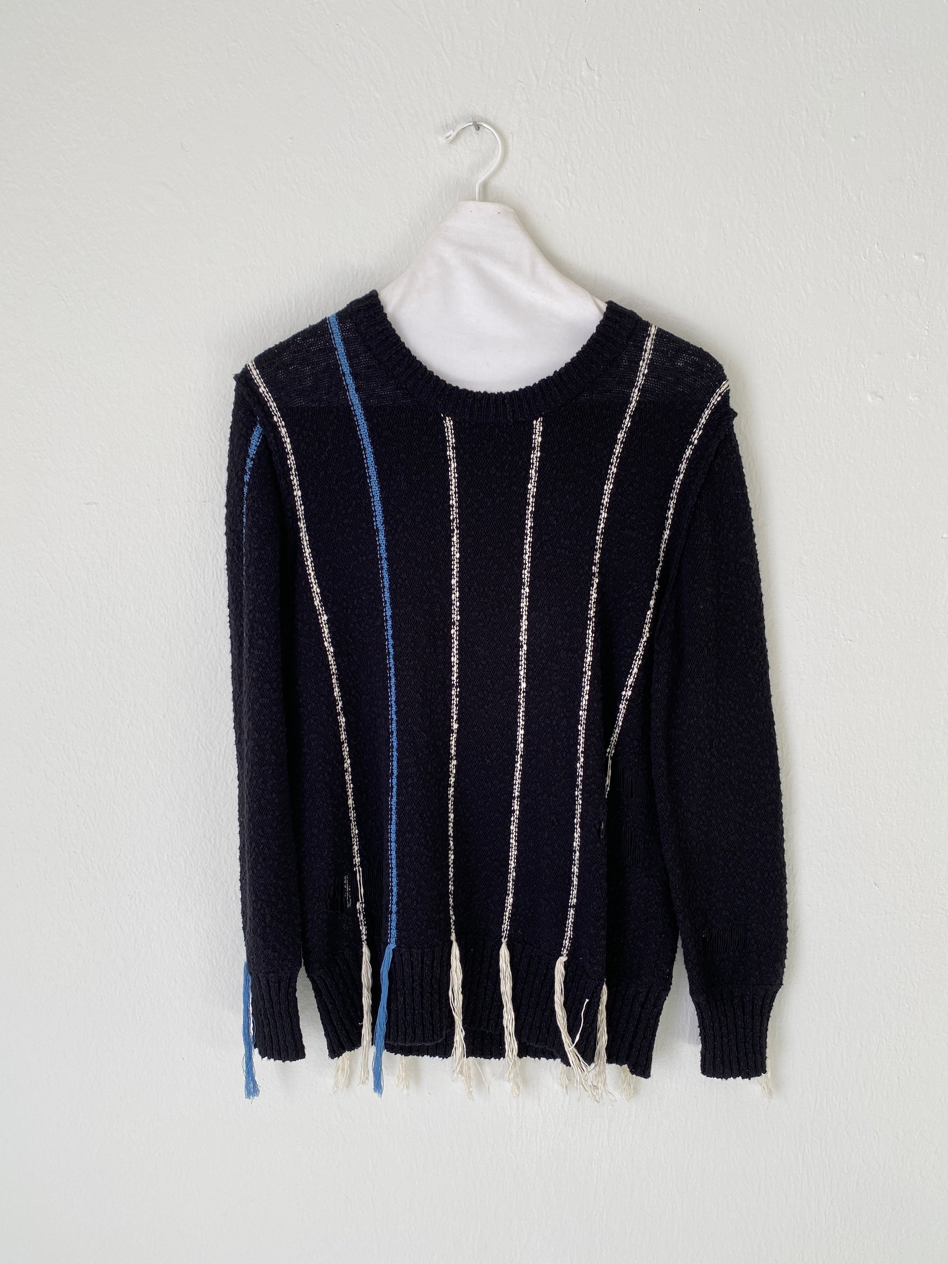 Raquel Allegra Fringe Sweater