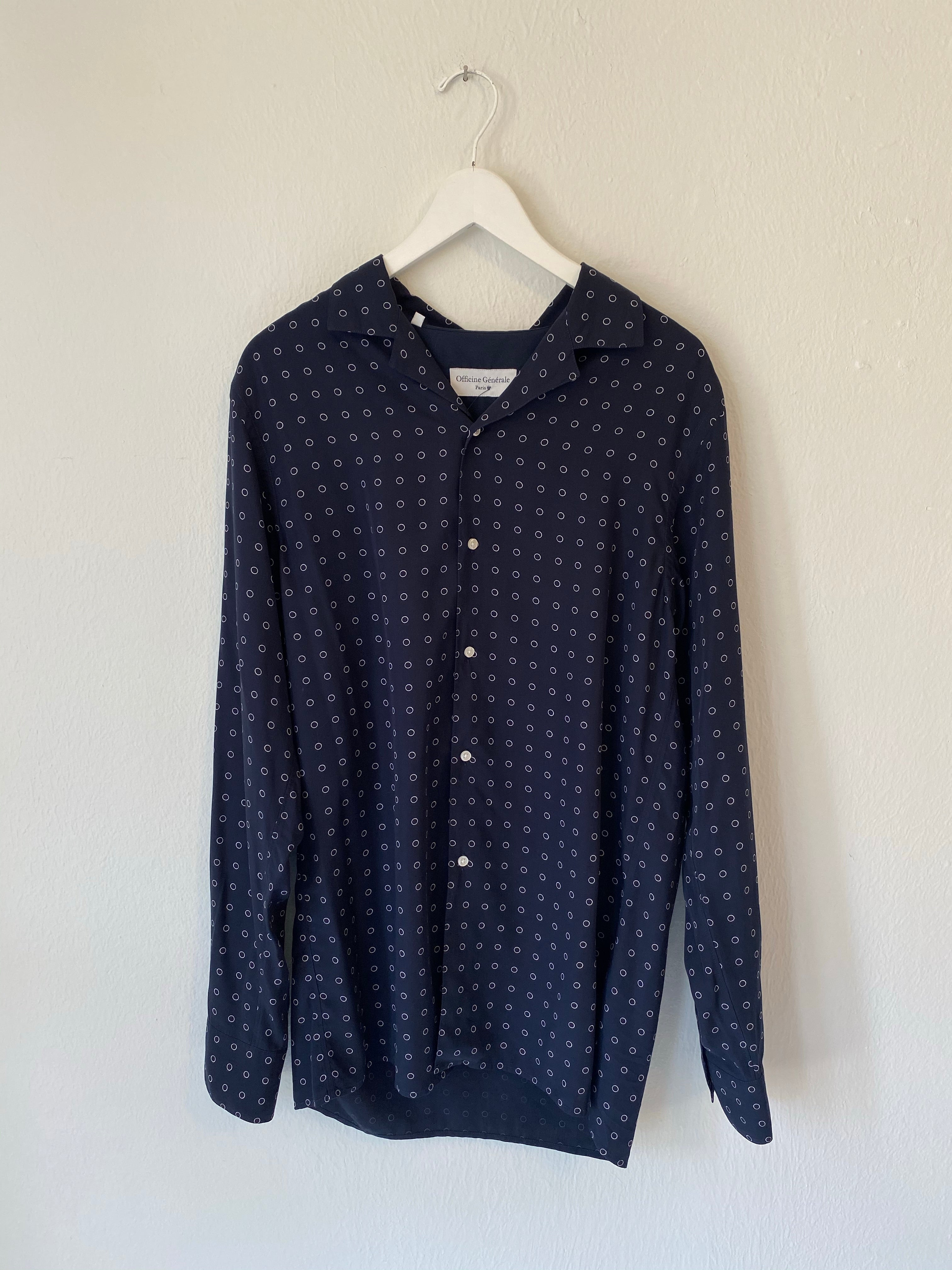 Officine Generale Printed Button Up