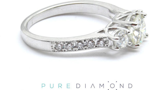3 diamond ring