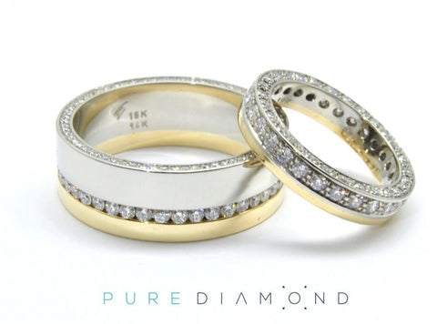 Wedding Bands For Him and Her