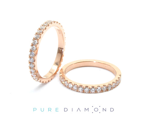 Popular Rose Gold Wedding Bands