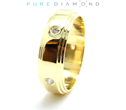 Perpetual Yellow Gold Wedding Band