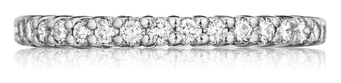 Classic shared prong eternity band