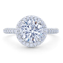 Side Edge Diamond Halo