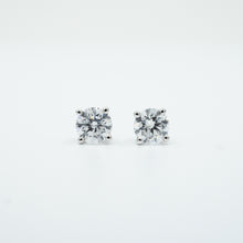 2.00 twt CARAT LAB GROWN DIAMOND EARRINGS