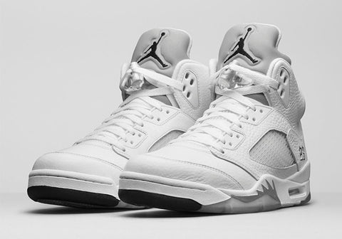 Air Jordan V (5) Retro Metallic Silver