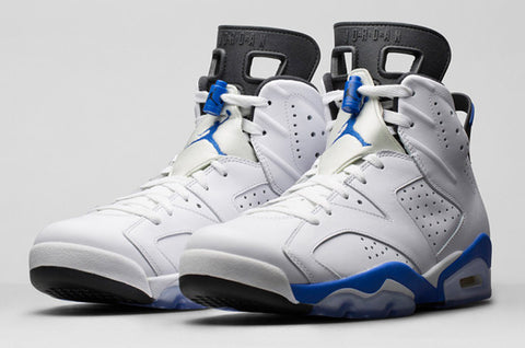 Air Jordan VI (6) Retro BG Sport Blue