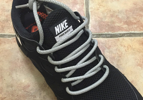 3m Rope Laces Grey