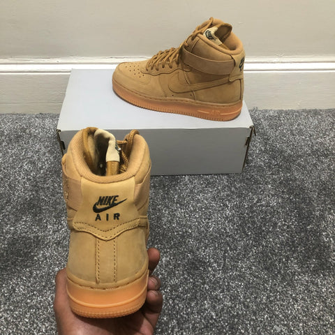 Air Force 1 Hi Premium Flax