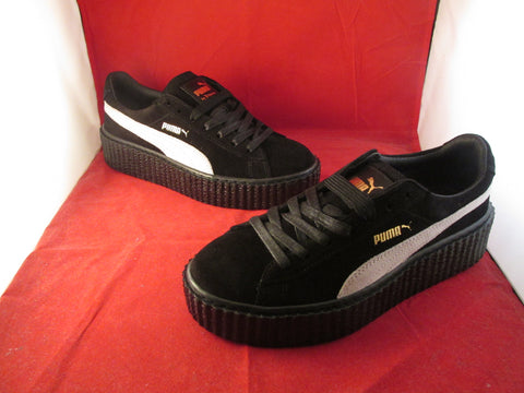 Creepers x Fenty By Rihanna Black Star White
