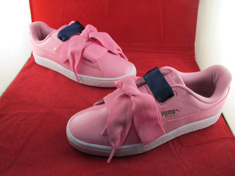 Basket Heart Patent Jr Pink