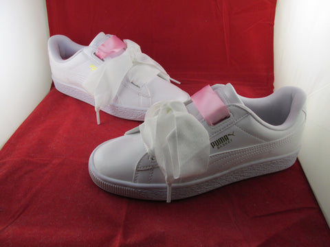 Basket Heart Patent Jr White