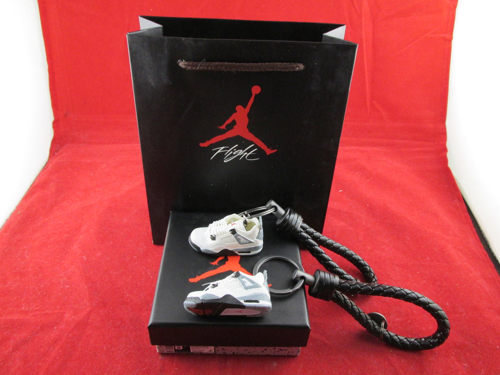 Air Jordan 4 Cement 3D Keychain