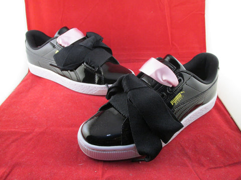 Basket Heart Patent Jr Black