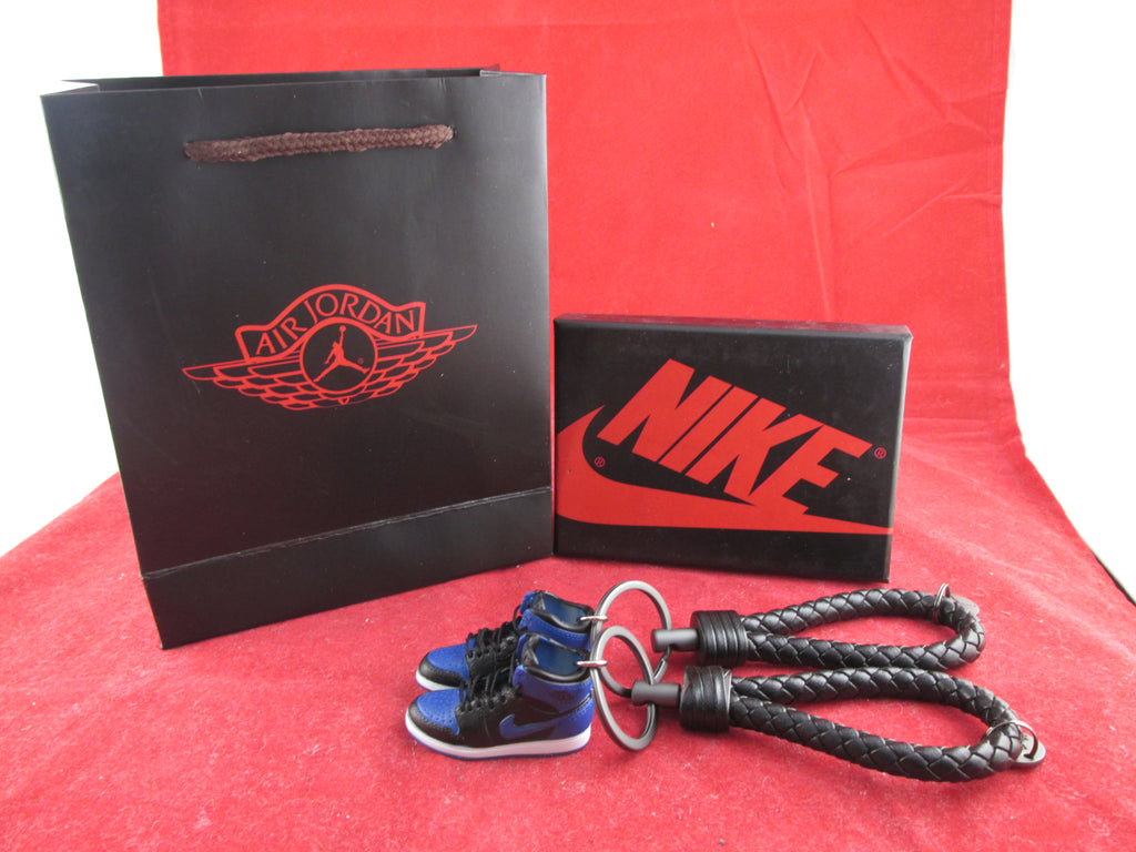competitive price bcf97 2835f Sold Out Air Jordan 1 Royal 3D Keychain