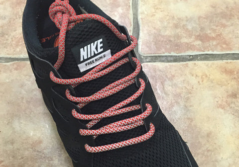 3m Rope Laces Red