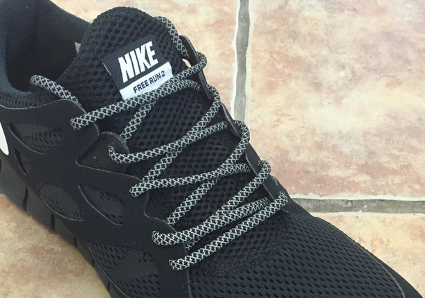 3m Rope Laces Black