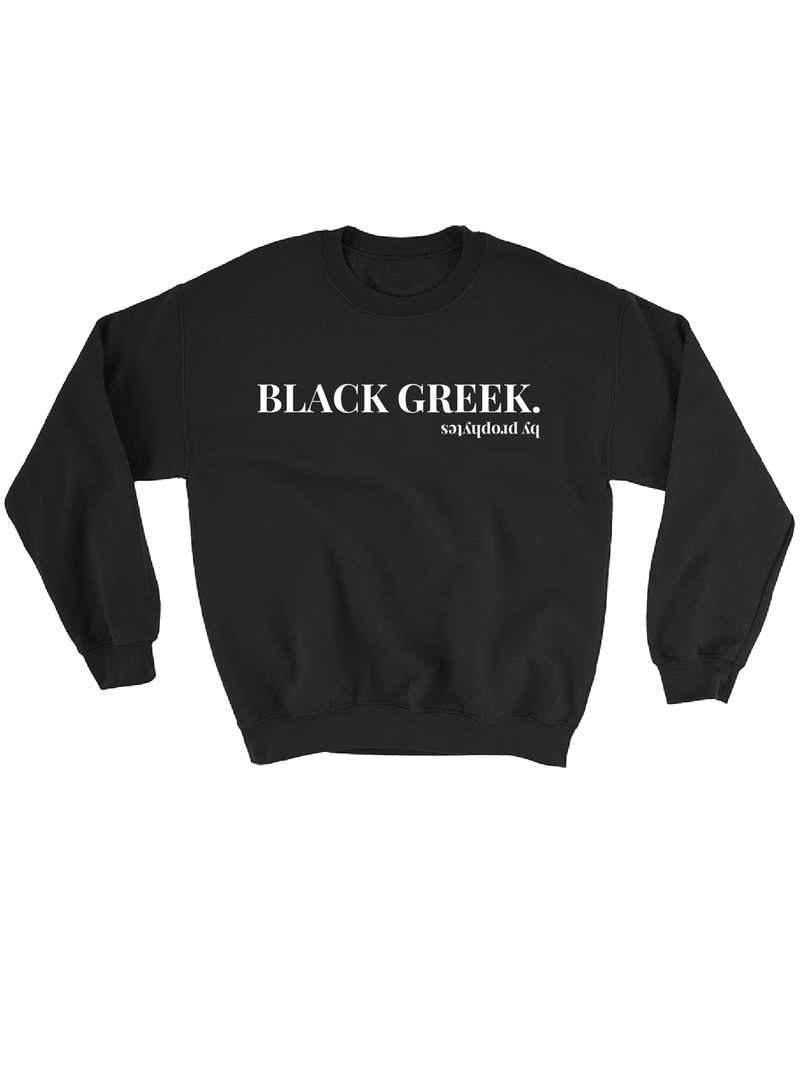 BLACK GREEK Sweatshirt