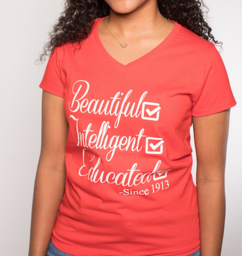 Delta Sigma Theta Tee - Beautiful