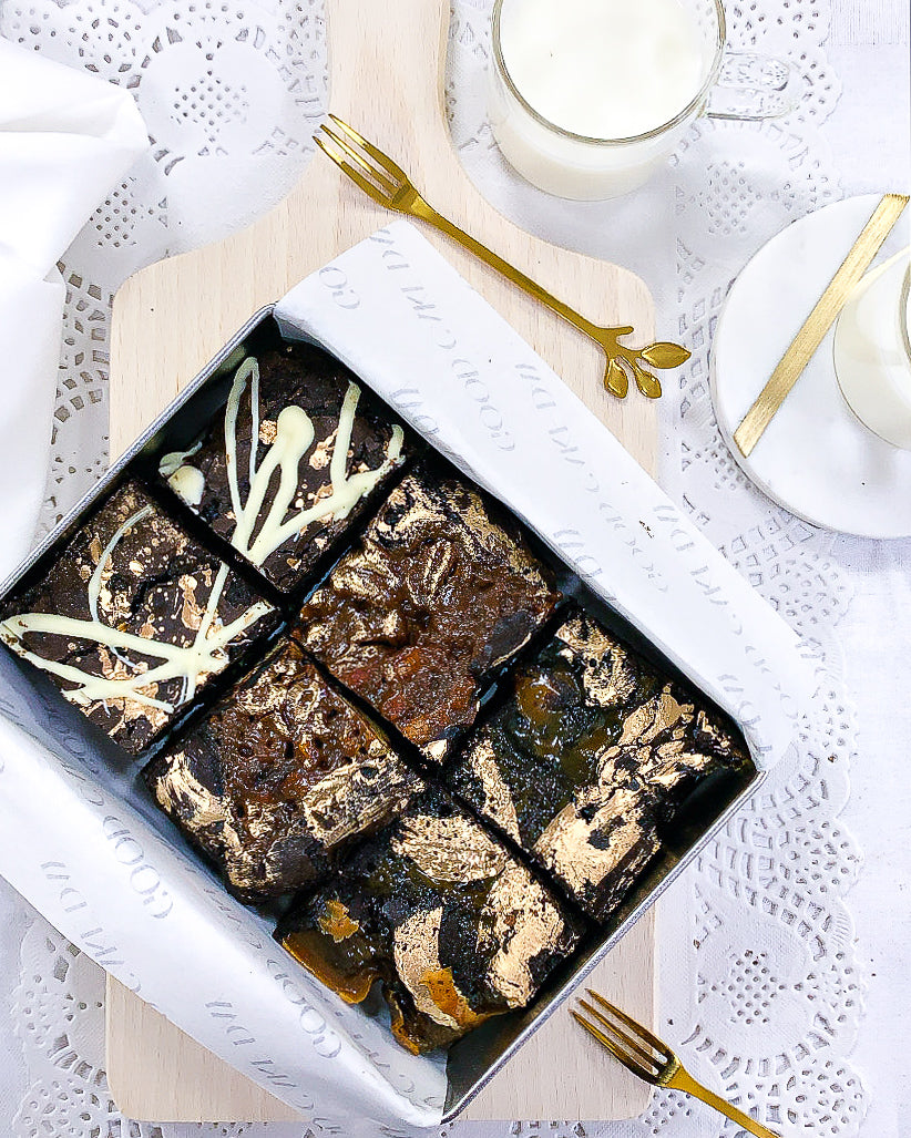 Mixed Selection of Chocolate Brownies