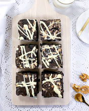 Load image into Gallery viewer, Pollock Bea - Walnut and White Chocolate Brownies
