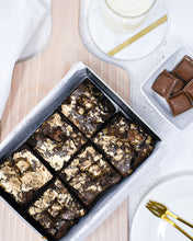 Load image into Gallery viewer, Gluten Free Classy Bea - Milk Chocolate and Caramel Brownies