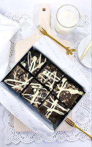 Pollock Bea - Walnut and White Chocolate Brownies