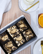 Load image into Gallery viewer, chocolate orange brownies