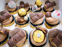 Load image into Gallery viewer, The Chocolate Box - Chocolate cupcakes