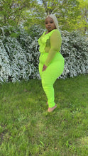 Load and play video in Gallery viewer, Dior Pants (neon Green)