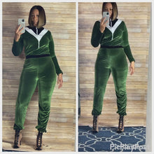 Load and play video in Gallery viewer, Olive Jumpsuit
