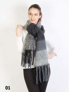 PLUSH SCARF SF16962
