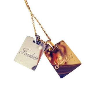 ATELIER SYP 18K GOLD FEARLESS PENDANTS