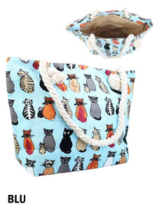 CANVAS CAT BAG BG1016BLU