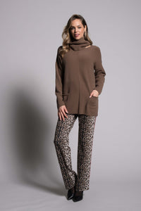 PICADILLY CANADA SWEATER QK116 -664 TOFFEE