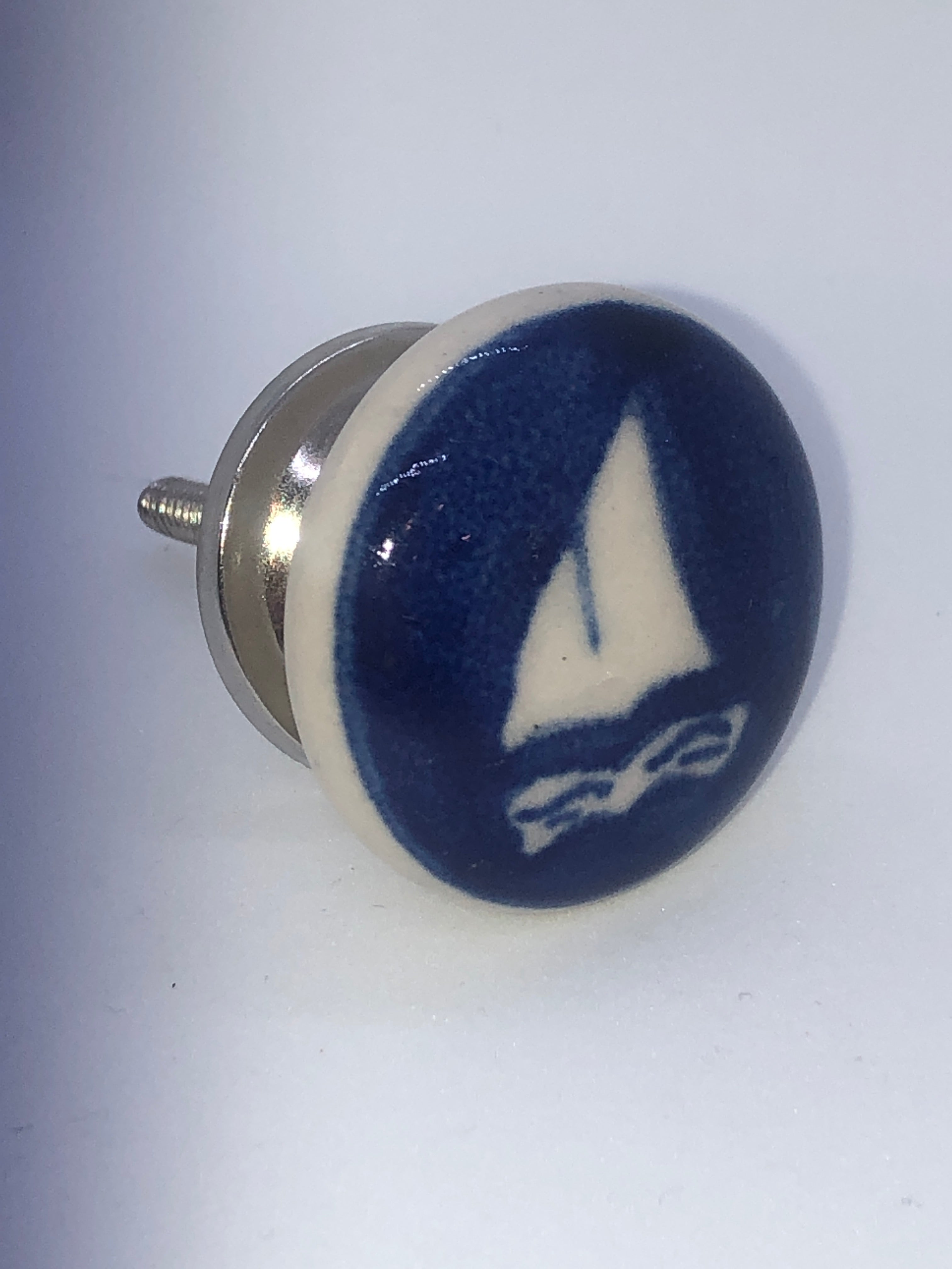 SAIL & ANCHOR BOAT KNOB SALE $4.00