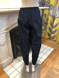 LUUKAA 100% CURTAIN NAVY BLUE PANT - 20Y0220