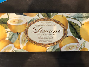 LIMONE LEMON SCENTED SOAP GIFT PACK