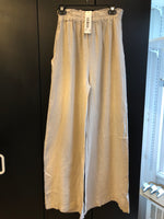 Load image into Gallery viewer, ETERNELLE LINEN STRAIGHT LEG PANT -TAUPE
