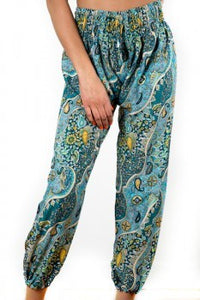 SUZIE BLUE BALI PANT GREEN ONE SIZE FITS ALL