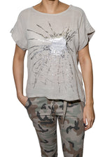 Load image into Gallery viewer, ETERNELLE CAMO PATTERN PANT