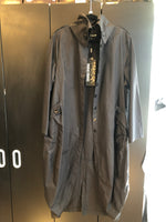 Load image into Gallery viewer, PAOLO TRICOT  TRENCH JACKET BLACK & GREEN