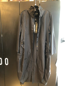 PAOLO TRICOT  TRENCH JACKET BLACK & GREEN