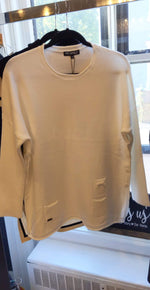 "Load image into Gallery viewer, PICADILLY CANADA ""OFF WHITE"" SWEATER QK127"